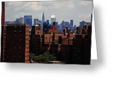 New York City Skyline 3 Greeting Card