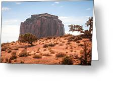 #3328 - Monument Valley, Arizona Greeting Card