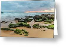 Dawn Seascape Greeting Card
