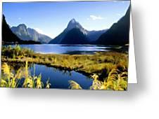 Q Landscape Greeting Card