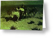 35427 Frederick Remington Greeting Card