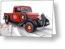 36 Dodge Greeting Card