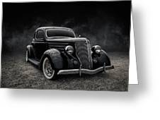 36 Ford Five Window Greeting Card