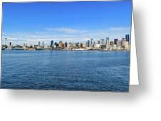 Seattle Skyline Greeting Card