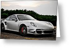 360 Forged Porsche 997tt 2 Greeting Card