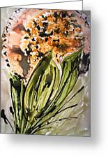 Divine Blooms Greeting Card