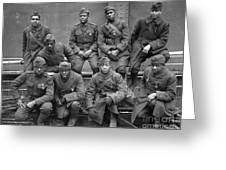 369th Infantry Regiment Greeting Card