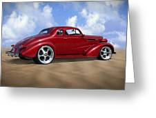 37 Chevy Coupe Greeting Card