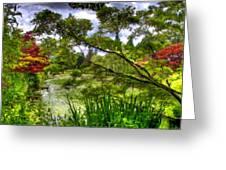 Landscape Show Greeting Card