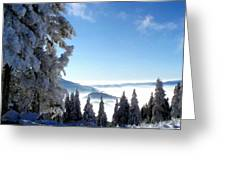 Picture Of Landscape Greeting Card