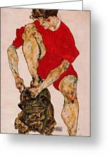 37986 Egon Schiele Greeting Card