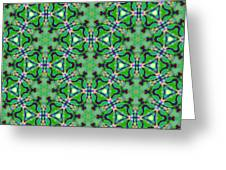 Arabesque 089 Greeting Card