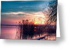 S Landscape Greeting Card
