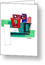 Untitled Greeting Card by Teddy Campagna