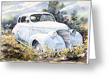 39 Chevy Greeting Card