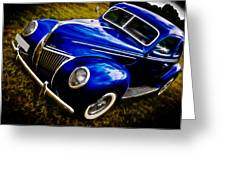 39 Ford V8 Coupe Greeting Card