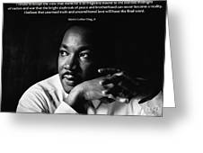 39- Martin Luther King Jr. Greeting Card by Joseph Keane