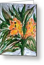 Divine Flowers Greeting Card