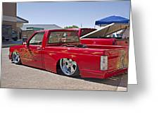 1982 Chevy S10_1a Greeting Card