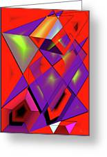 3d-cubes Greeting Card