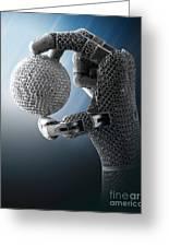 3d Printing Additive Robotic Hand Greeting Card