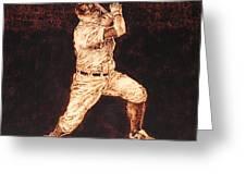 3rd. Base Greeting Card by Dan LaTour