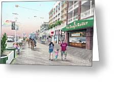 3rd Street Ocean City Md Greeting Card