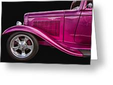 1932 Ford Hot Rod Greeting Card
