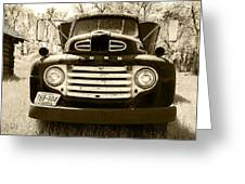 1949 Ford Truck Greeting Card