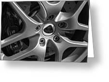 2011 Lotus Euora Wheel Emblem Greeting Card