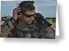 A U.s. Air Force Combat Controller Greeting Card