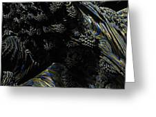 Abstract Fractal Landscape Greeting Card