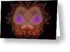 Abstract Graphics Greeting Card