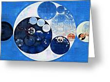 Abstract Painting - Midnight Express Greeting Card