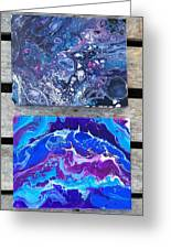 Acrylic Pouring Greeting Card