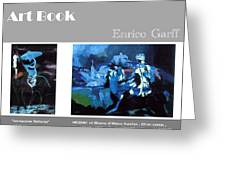 Art Book Greeting Card