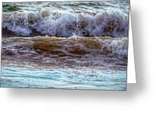 Atlantic Waves Greeting Card