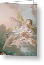 Aurora And Cephalus Greeting Card