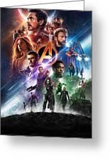 Avengers Infinity War Greeting Card