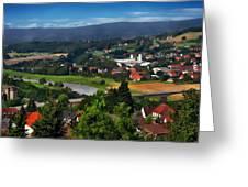Bavarian Landscape Greeting Card