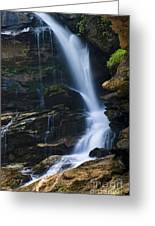 Big Bradley Falls North Carolina Greeting Card