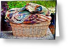 Blankets Greeting Card