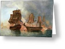 Bonhomme Richard, 1779 Greeting Card