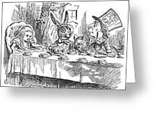 Carroll: Alice, 1865 Greeting Card