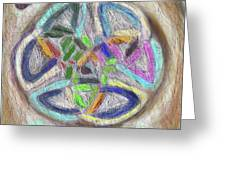 Celtic Layers Greeting Card