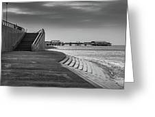Central Pier Blackpool Greeting Card