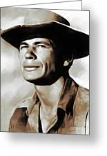 Charles Bronson, Actor Greeting Card