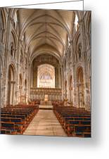 Christchurch Priory Greeting Card