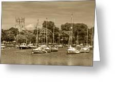 Christchurch Skyline Greeting Card