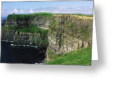 Cliffs Of Moher, Co Clare, Ireland Greeting Card